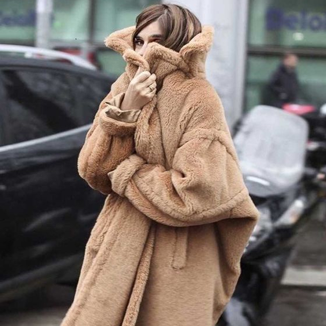Plush Coats for Fall