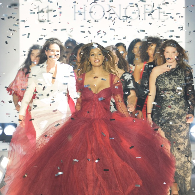 Trending:11 Honoré And Laverne Cox Strut Into NYFW With The First-Ever Size Inclusive Show