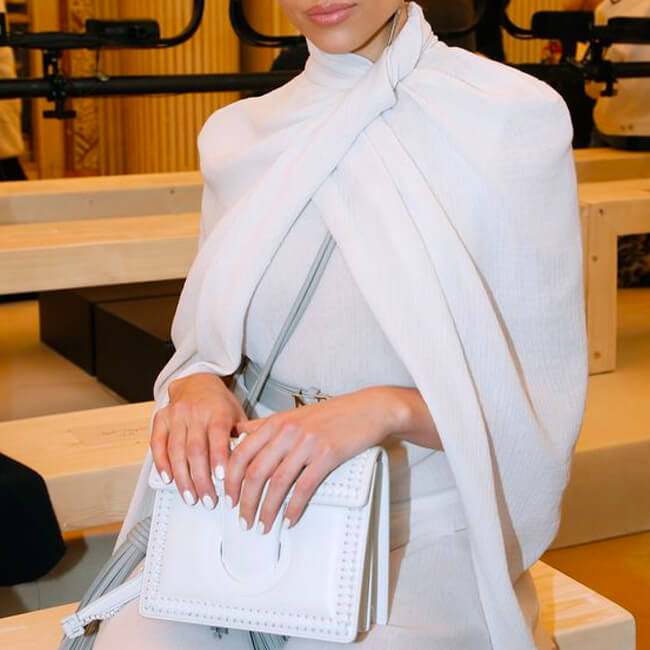 Fresh White Accessories for Spring
