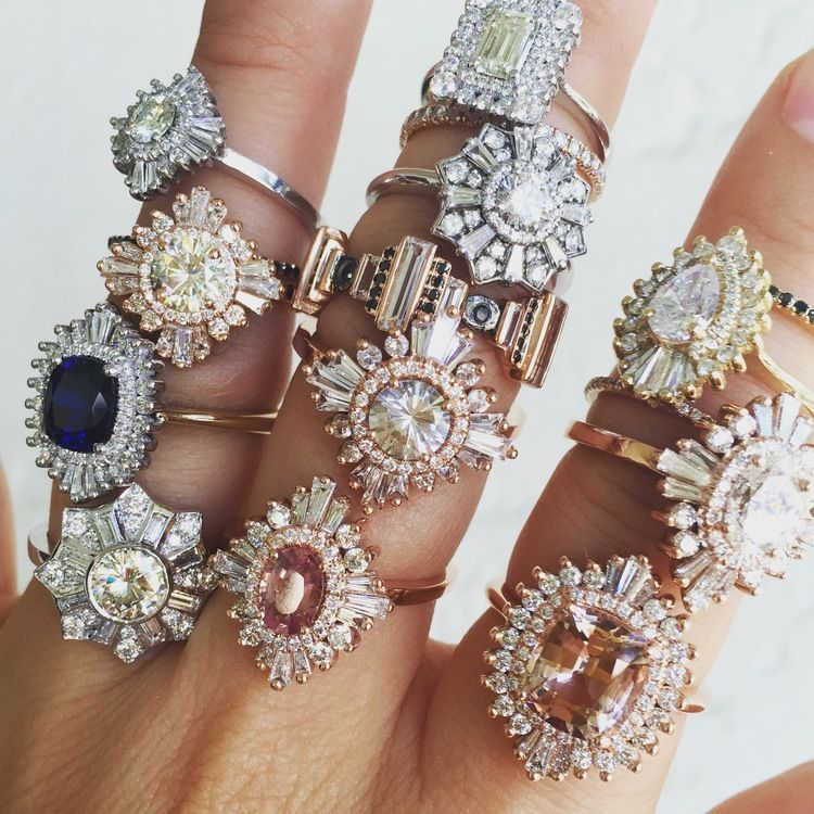 "It's ""I Do"" Season As We Swoon Over Celebrity Engagement Rings"