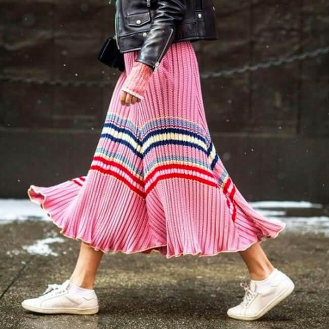 Trending: Bold Brights & Stripes For Summer