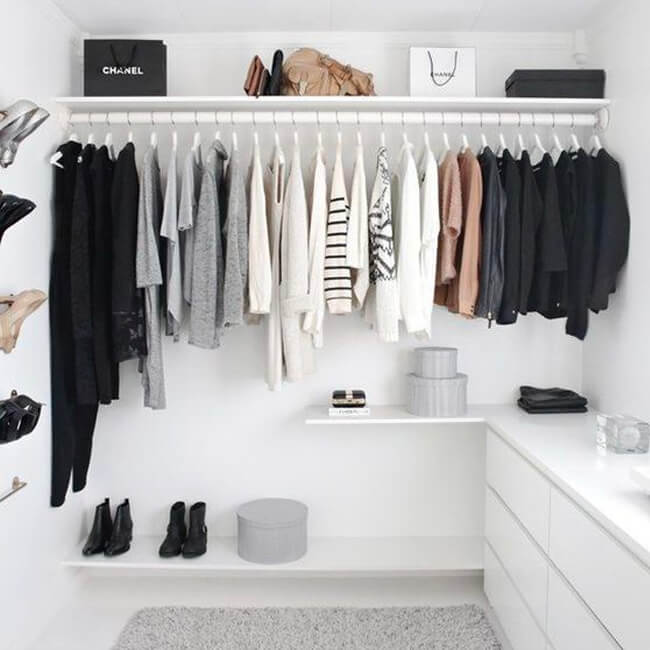Closets We're Coveting: What Better Time To Spring Clean Than When You're Stuck Inside